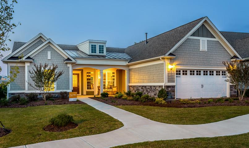 Carolina arbors by del webb active adult 55 community for North valley homes