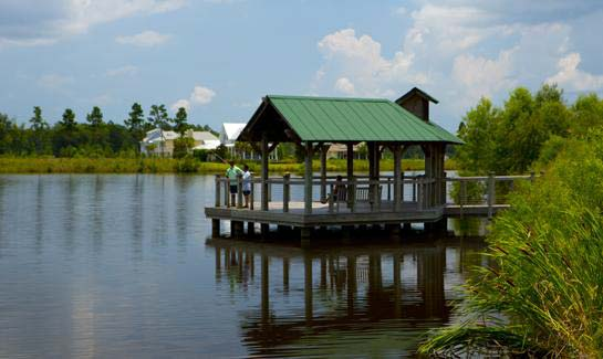 Hilton head lakes private gated lake community in for Hilton head fishing pier